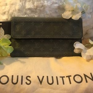 AUTHENTIC LOUIS VUITTON Min Lin Wallet!